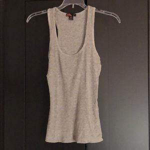 Basic Forever 21 gray wife beater thank size M